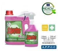 Limpieza de superficies (baños)